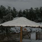 """""""Tapando"""" nieve"""